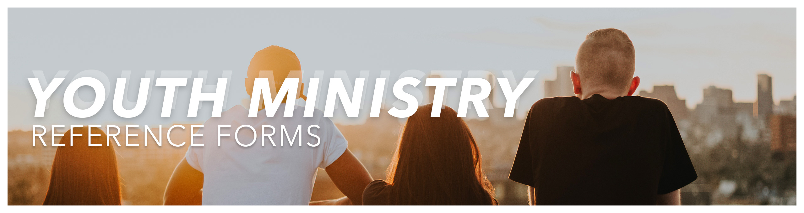 Youth Ministry Reference Form