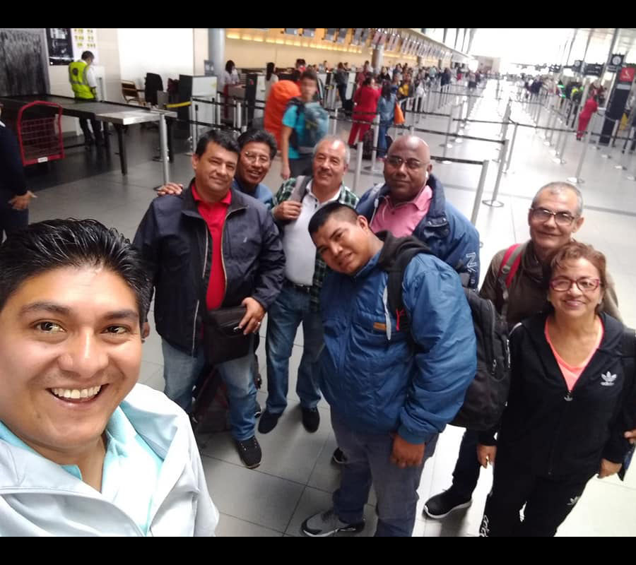 Sized-2_Colombia Pastors and Wives at Airport